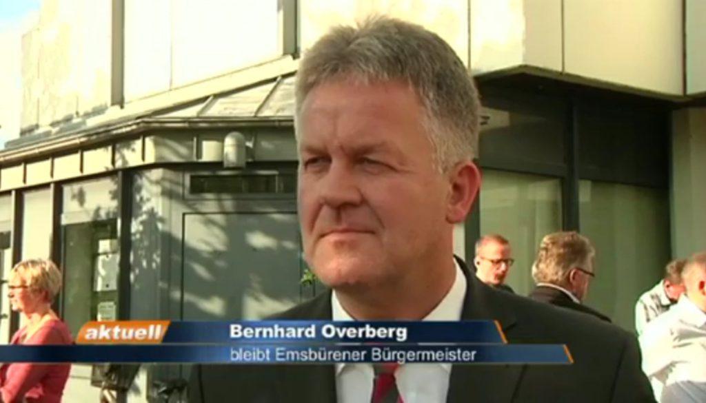 Bürgermeisterwahl Emsbüren - Interview mit Bernhard Overberg