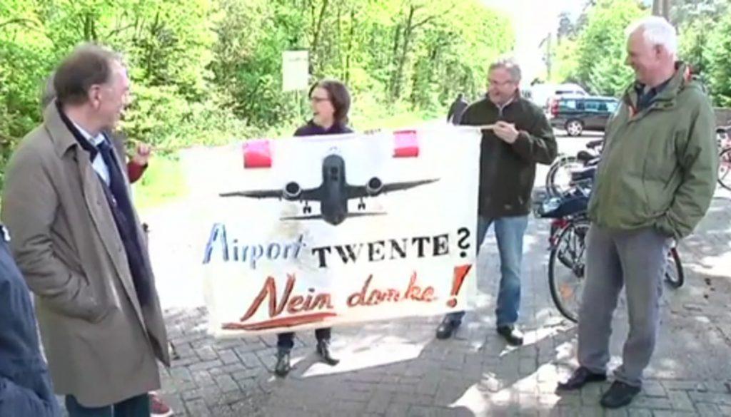 Verkehrsflughafen Twente gecancelt