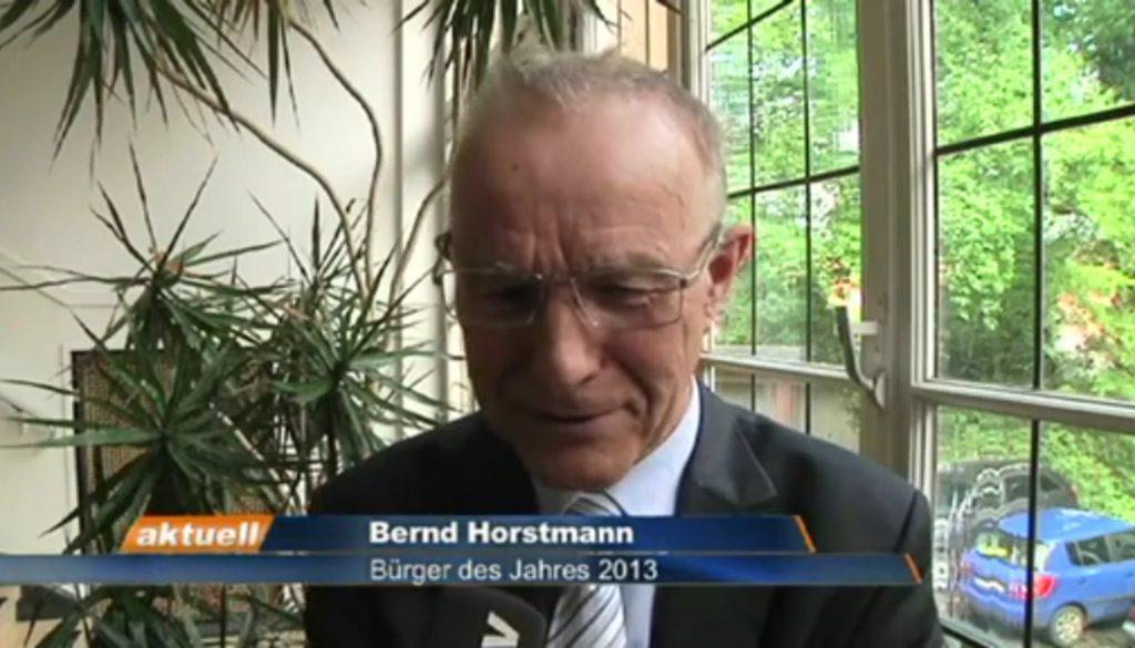 Bernd Horstmann ist Bürger des Jahres
