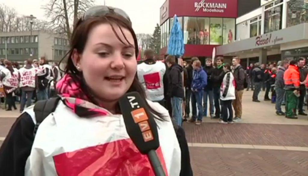 Warnstreiks in Meppen