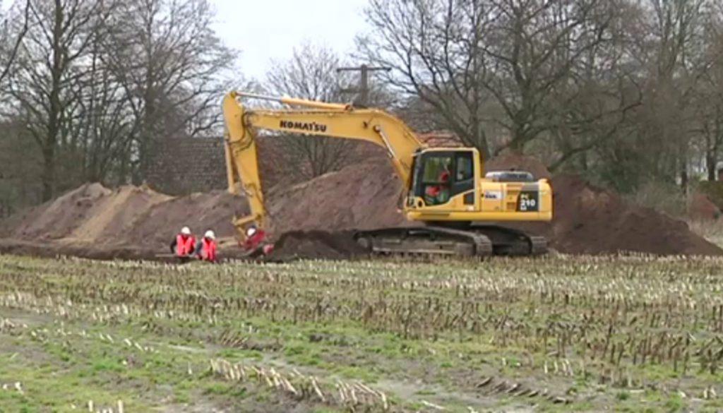 Nordhorn: Archäologen spüren der Vorzeit nach