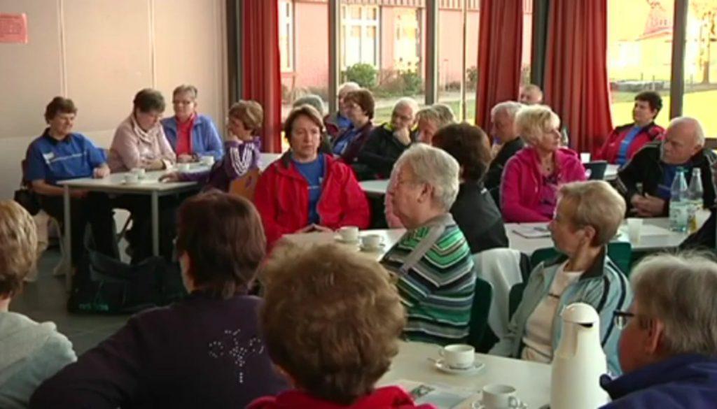 Senioren aktiv beim Sporttag in Werlte