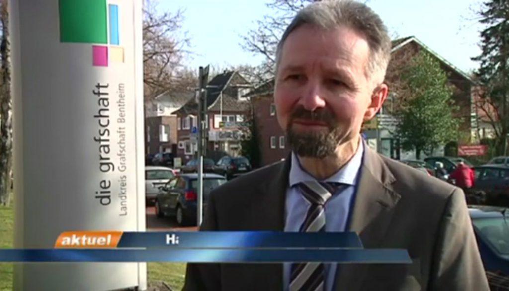 Vogelgrippe Erster Kreisrat Hans Werner Schwarz im Interview