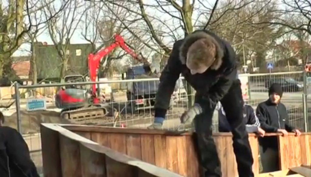 Buntes Boot für die Landesgartenschau