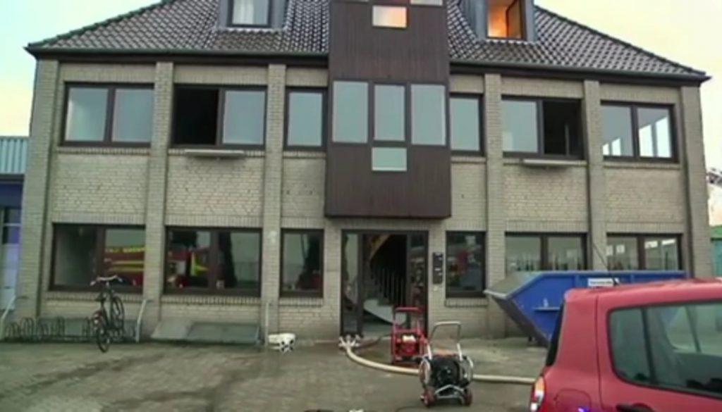 Feuer im Haus: Menschen gerettet