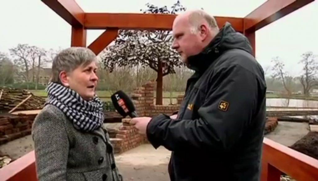 Kinderkiste -  Christian zu Gast auf dem Gelände der Landesgartenschau