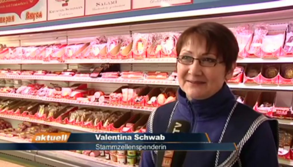Valentina Schwab rettet mit Stammzellenspende Leben