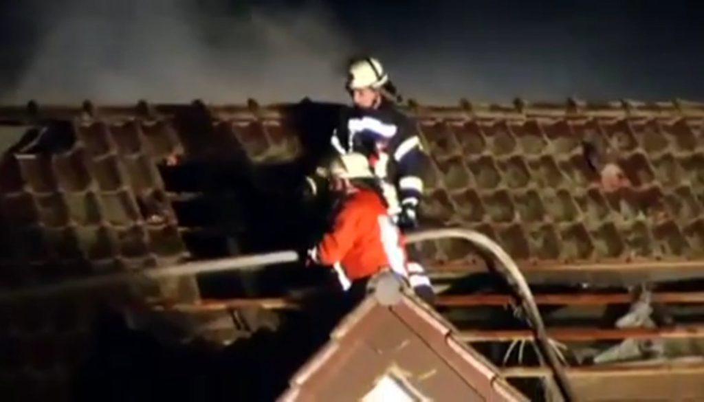 Mehrfamilienhaus brennt in Haren nieder
