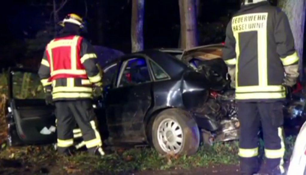 Zwei Unfälle fordern fünf Verletzte