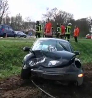 Zwei Verletzte bei Unfall in Uelsen