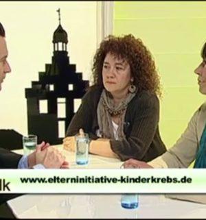 ev1.tv der Talk - Elterninitiative Kinderkrebs e.V.