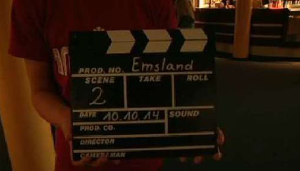 Preisverleihung der Filmklappe Emsland