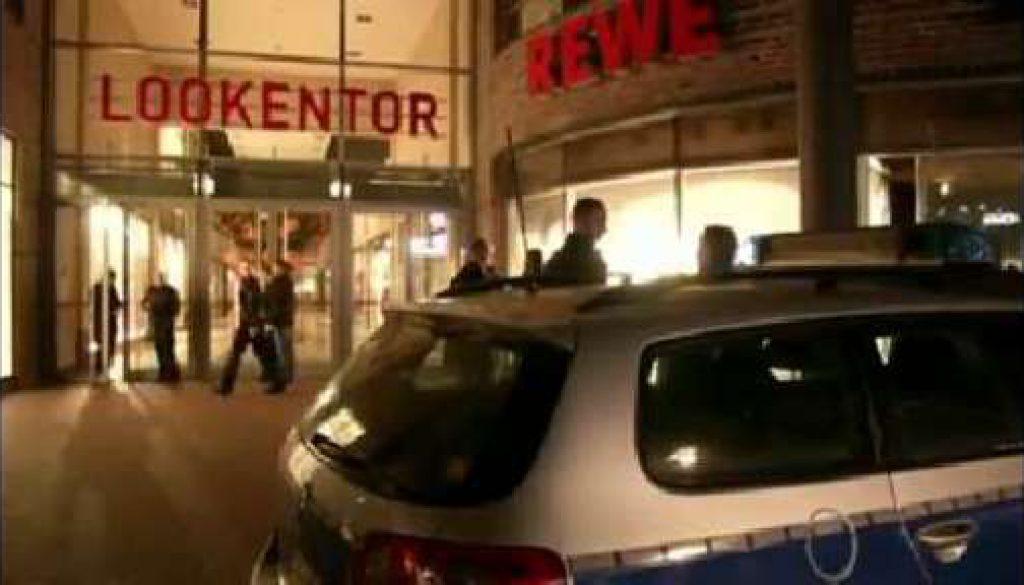 Unbekannter droht mit Bombe im Lingener Lookentor