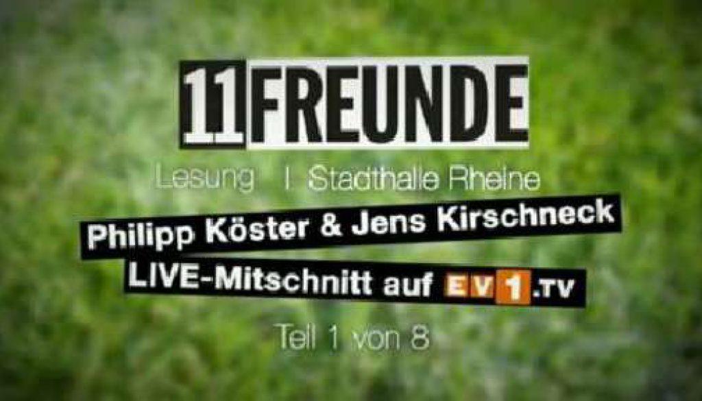 11 FREUNDE-Lesung in Rheine - Teil 1