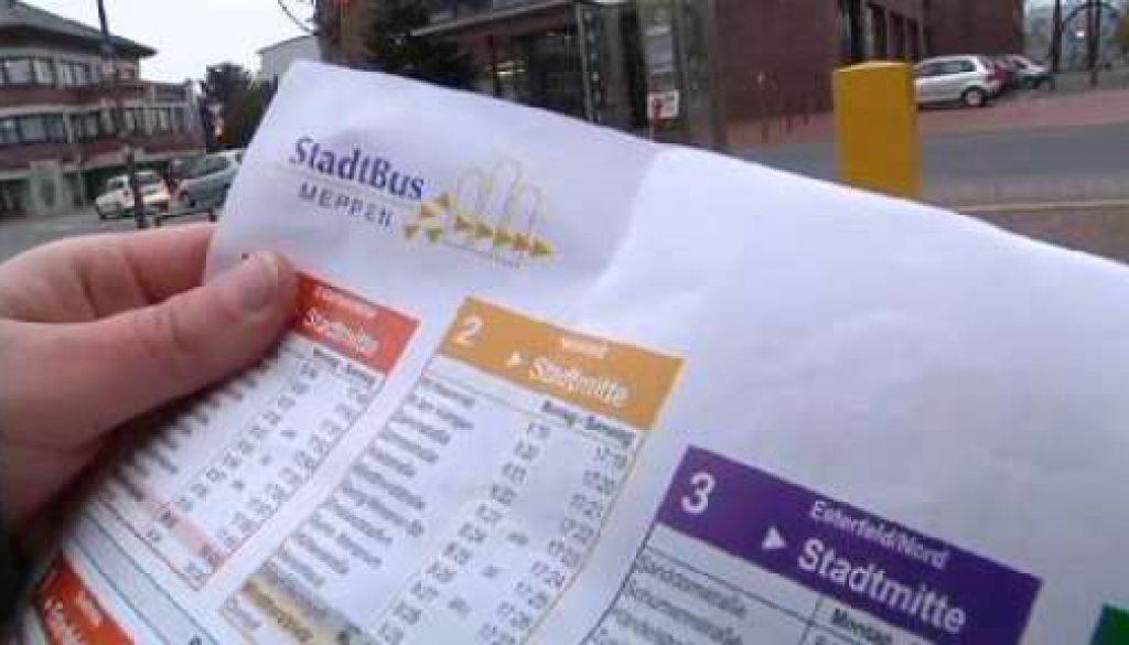Optimierung des Stadtlinienverkehrs in Meppen