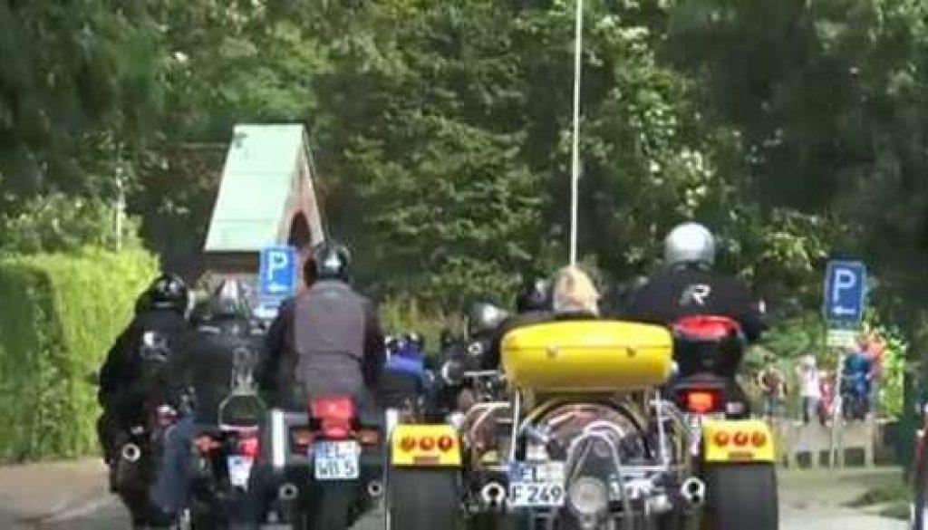Motorradwallfahrt von Sögel nach Heede