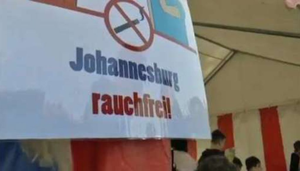 Rauchprävention - Gesundheitstage an der Johannesburg