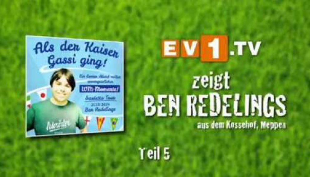 Lesung: Ben Redelings - Als der Kaiser Gassi ging - Folge 5