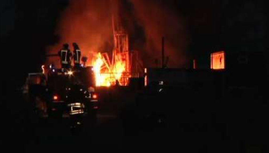 Explosion an Gasbohrstelle in Geeste-Bramhar