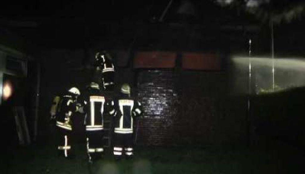 Brand in Asylbewerberheim - Mutmaßlicher Brandstifter festgenommen