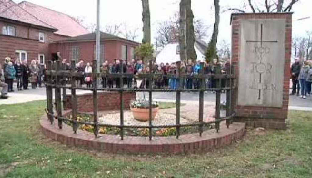 Vor 70 Jahren starben 30 Menschen - Gedenkfeier in Sögel
