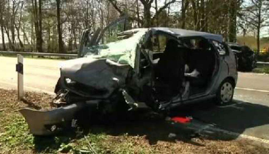 Tödlicher Unfall auf der B70 in Aschendorf