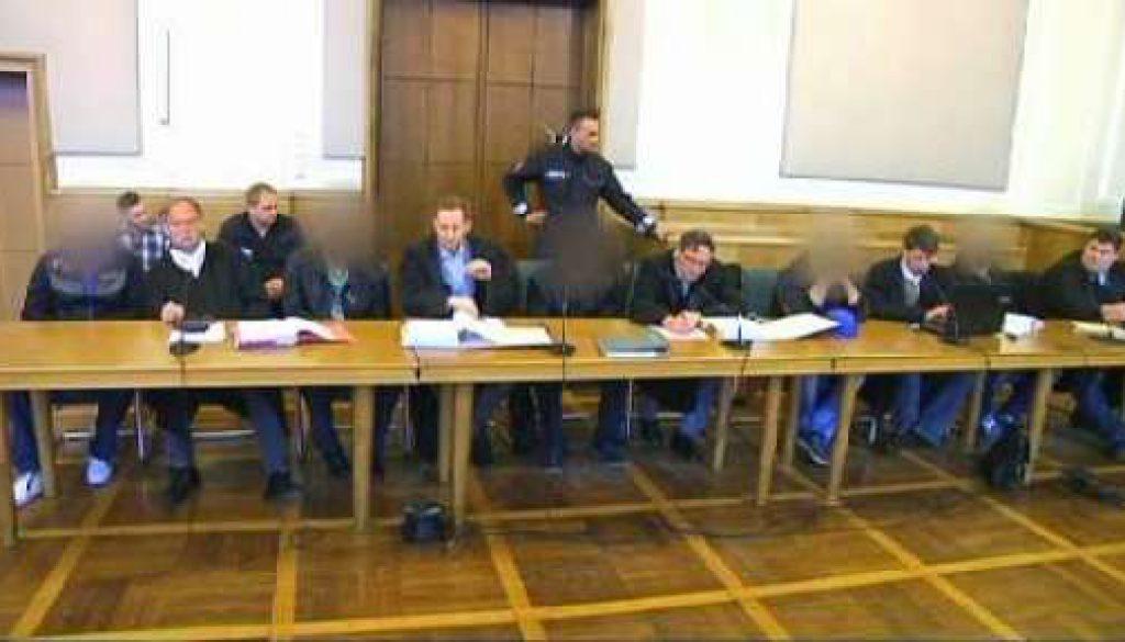Schlägerei in Meppen fünf Männer wegen versuchten Totschlages vor Gericht