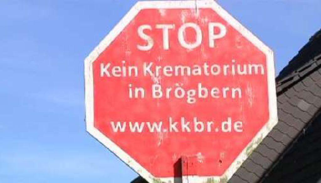 Brögbern: Menschen sind gegen ein Krematorium hier