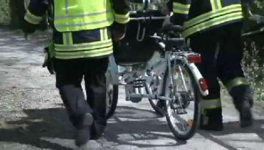 Nach Unfall aus Kanal gerettet