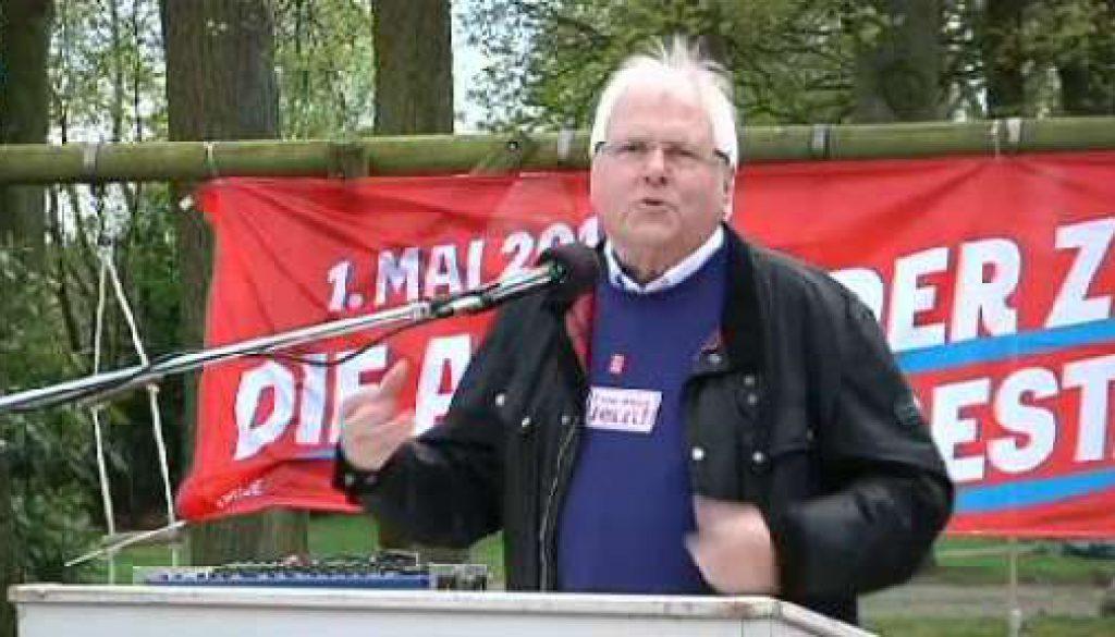Kundgebung der DGB-Gewerkschaften in Lingen