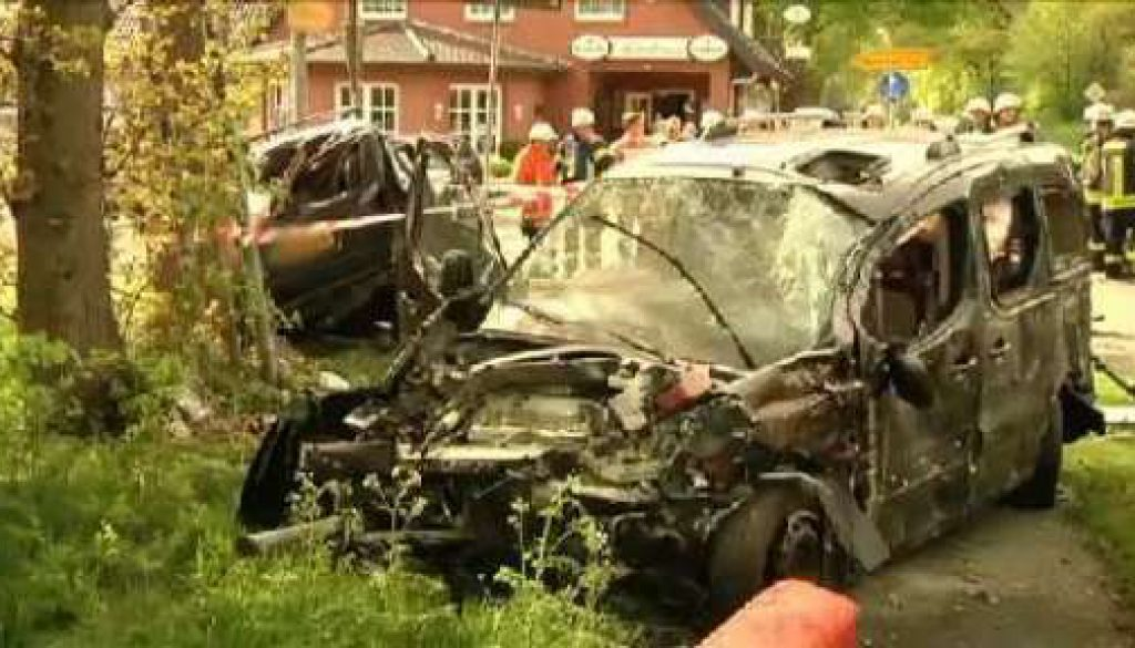 Sechs Verletzte bei Unfall in Itterbeck