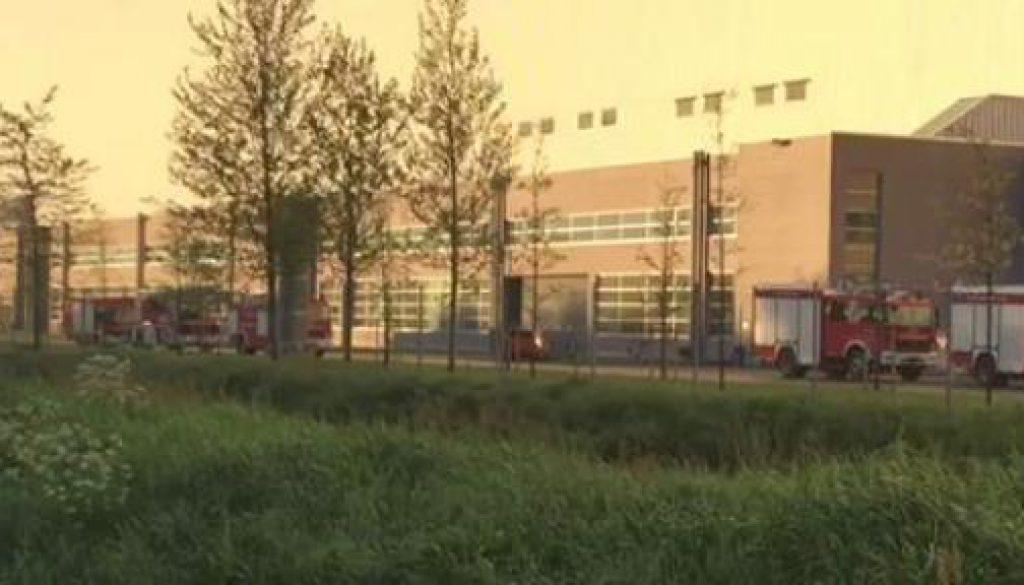 Feuer auf Luxusliner in der Meyer Werft