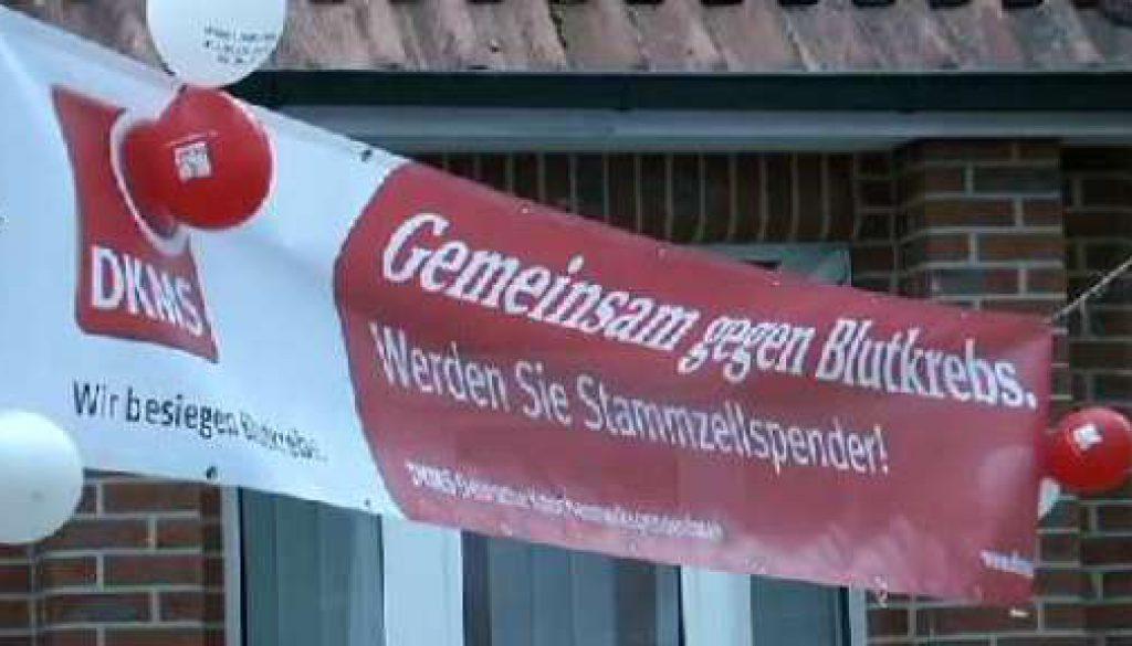 Typisierungsaktion in Schüttorf