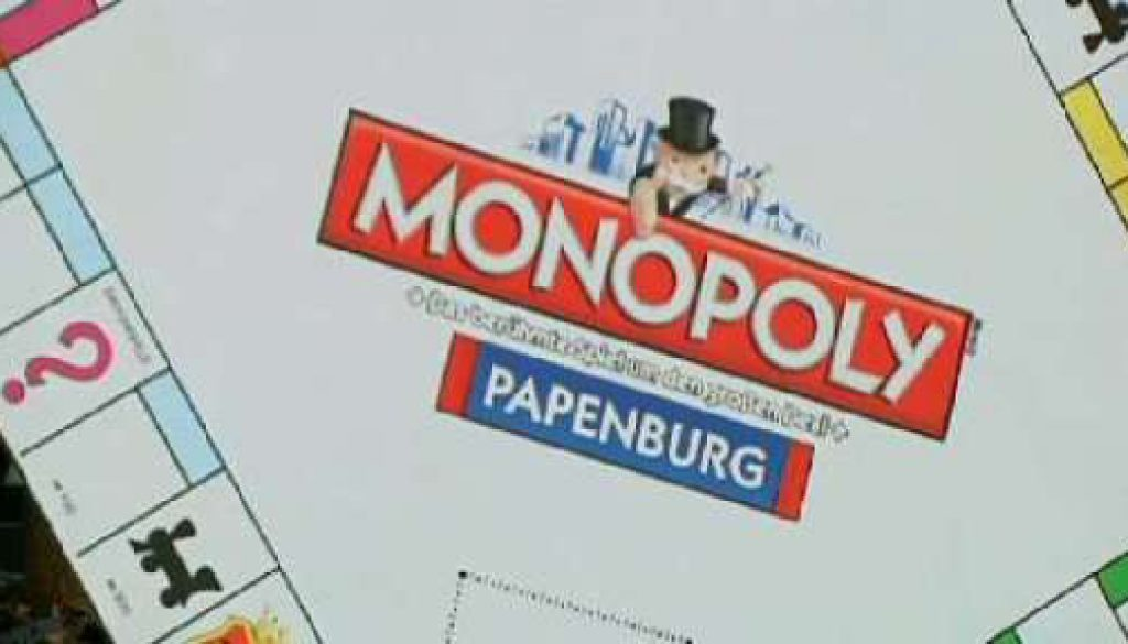 Eigene Monopoly-Ausgabe für Papenburg