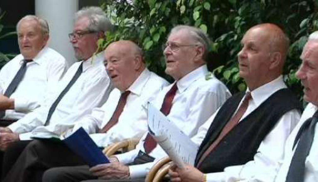 Seniorenchor mit Tournee durch Grafschafter Pflegeheime