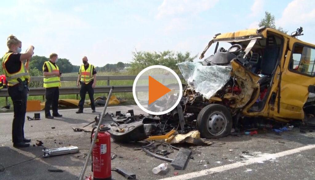 Screen_Schwerer Verkehrsunfall auf der A1